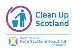 Clean Up Scotland logo
